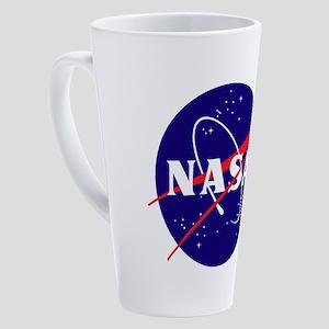 NASA Meatball Logo 17 oz Latte Mug
