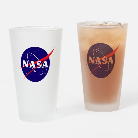 NASA Meatball Logo Drinking Glass