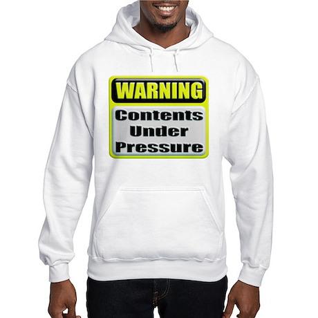 Contents Under Pressure Hooded Sweatshirt