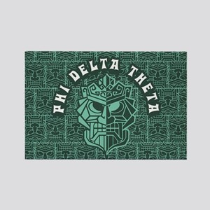 Phi Delta Theta Beach Rectangle Magnet