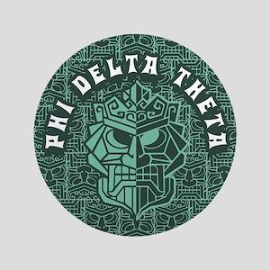 """Phi Delta Theta Beach 3.5"""" Button"""