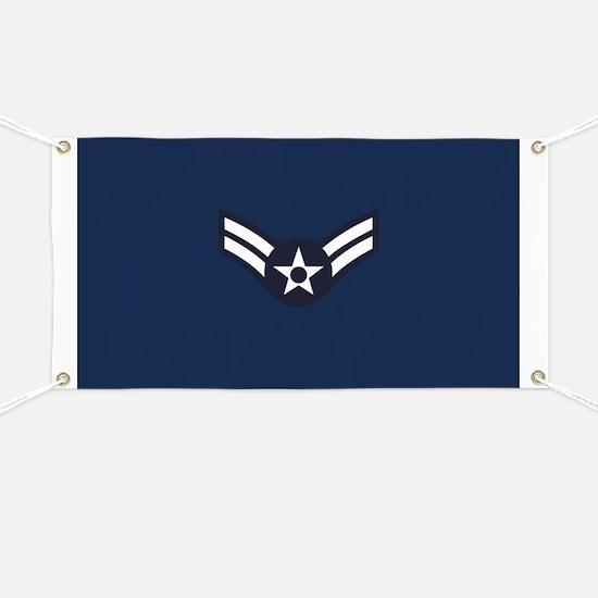 USAF: A1C E-3 (Blue) Banner