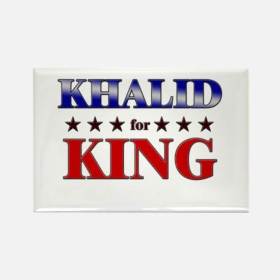 KHALID for king Rectangle Magnet