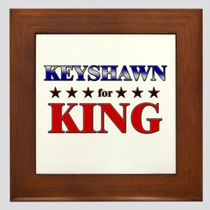 KEYSHAWN for king Framed Tile
