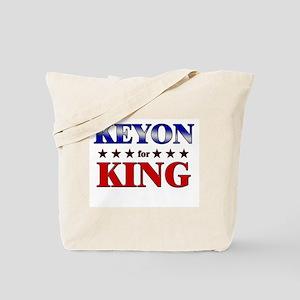 KEYON for king Tote Bag