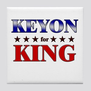 KEYON for king Tile Coaster
