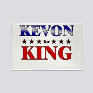 KEVON for king Rectangle Magnet