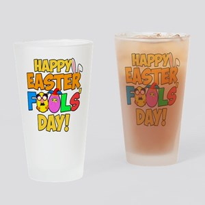 Happy Easter Fools' Day! Drinking Glass