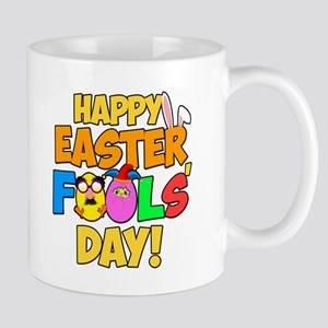 Happy Easter Fools' Day! 11 oz Ceramic Mug
