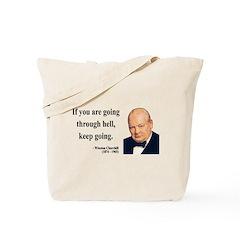 Winston Churchill 6 Tote Bag