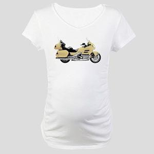Honda Goldwing Yellow Maternity T-Shirt