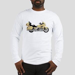 Honda Goldwing Yellow Long Sleeve T-Shirt