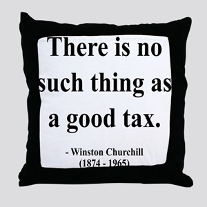 Winston Churchill 7 Throw Pillow