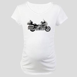 Honda Goldwing Gray Maternity T-Shirt