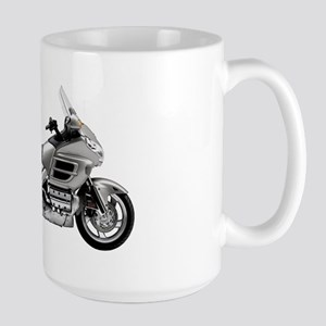 Honda Goldwing Gray Large Mug