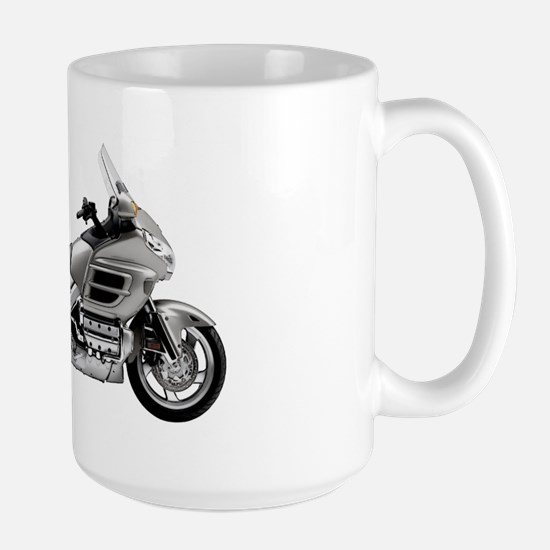Honda Goldwing Gray Large Mug