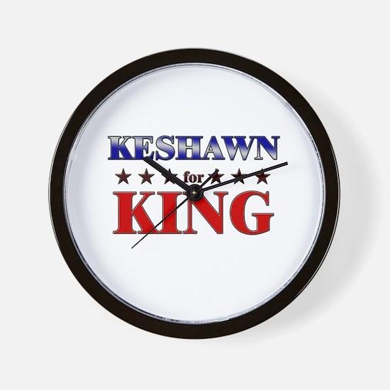 KESHAWN for king Wall Clock