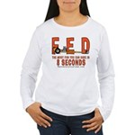 8 SECONDS Women's Long Sleeve T-Shirt