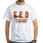 8 SECONDS White T-Shirt