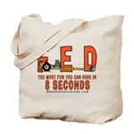 8 SECONDS Tote Bag