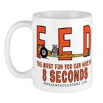 8 SECONDS Mug