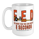 8 SECONDS Large Mug