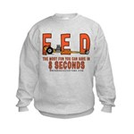 8 SECONDS Kids Sweatshirt