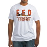 8 SECONDS Fitted T-Shirt