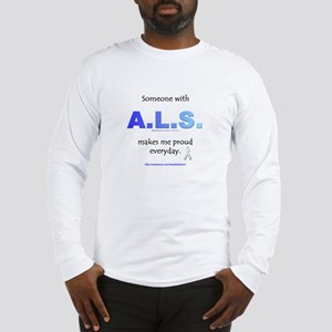"""ALS Pride"" Long Sleeve T-Shirt"