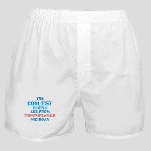 Coolest: Temperance, MI Boxer Shorts