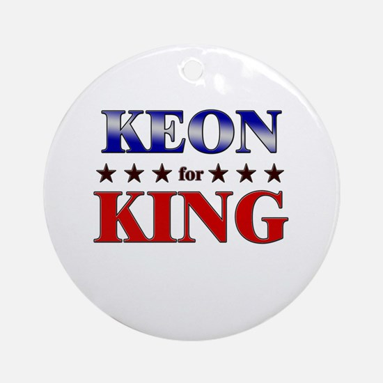 KEON for king Ornament (Round)