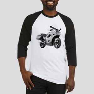 Triumph Trophy Motorbike Gray Baseball Jersey