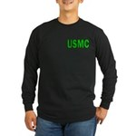 USMC ver5 Long Sleeve Dark T-Shirt