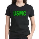 USMC ver5 Women's Dark T-Shirt