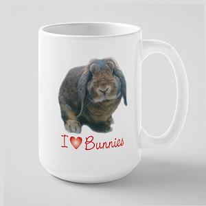 bunny lover Large Mug