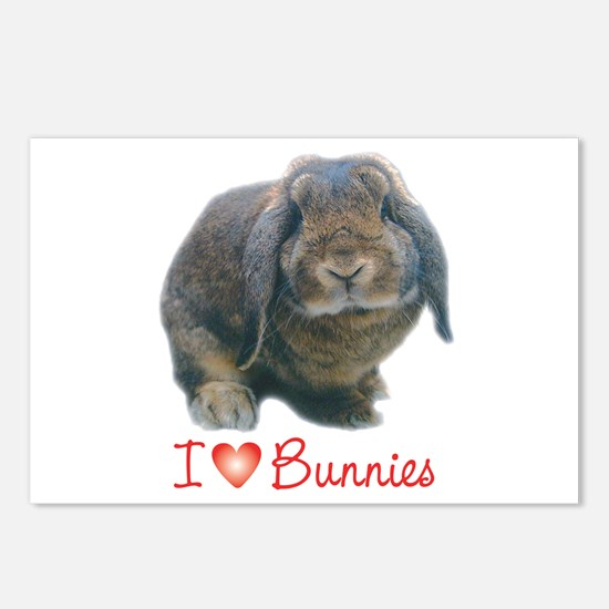 bunny lover Postcards (Package of 8)