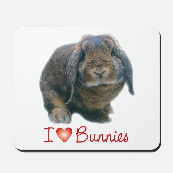 bunny lover Mousepad