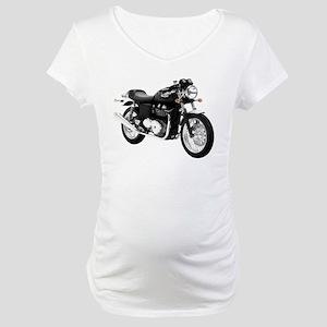 Triumph Thruxton Motorbike Black Maternity T-Shirt