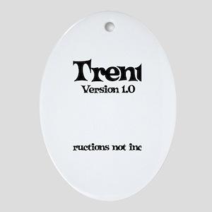 Trent - Version 1.0 Oval Ornament