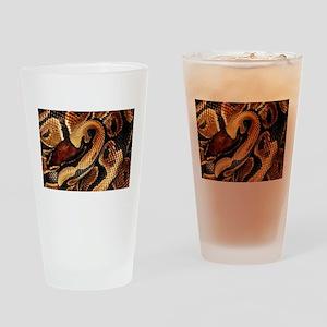 Ball Python coils Drinking Glass