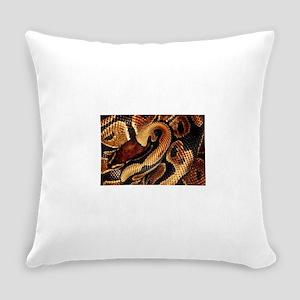 Ball Python coils Everyday Pillow