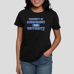 Alaskan Malamute U. Women's Dark T-Shirt
