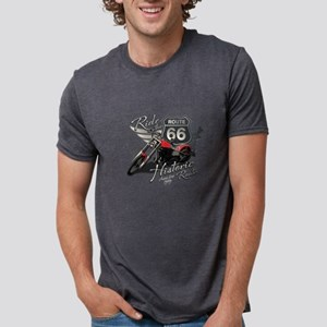 Motorcycle on Route 66 T-Shirt