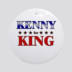 KENNY for king Ornament (Round)