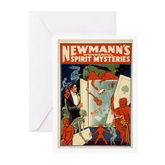 Newmann's Wonderful Spirit Mysteries Greeting Card