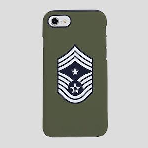 USAF: CCM E-9 (Green) iPhone 8/7 Tough Case