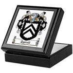 Tyrrell Family Crest Keepsake Box