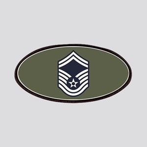USAF: SMSgt E-8 (Green) Patch