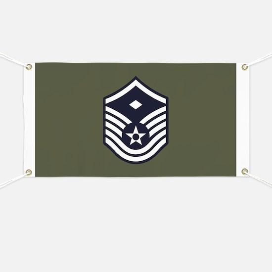 USAF: MSgt E-7 (Green) Banner