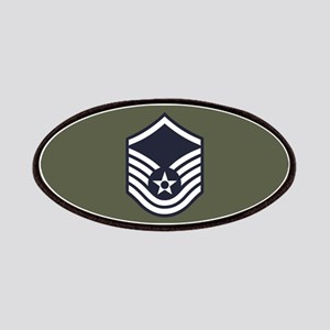 USAF: MSgt E-7 (Green) Patch